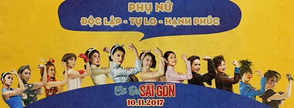 Dàn mỹ nhân Cô Ba Sài Gòn đồng loạt khoe cơ bắp ủng hộ nữ quyền-1