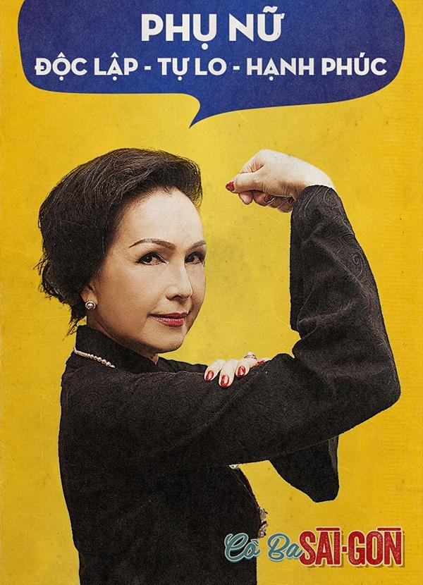 Dàn mỹ nhân Cô Ba Sài Gòn đồng loạt khoe cơ bắp ủng hộ nữ quyền-5