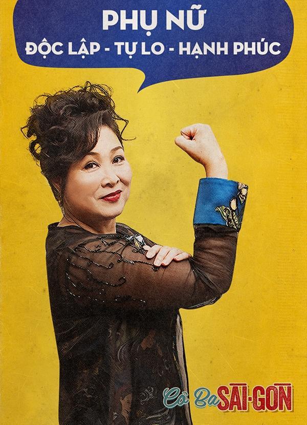 Dàn mỹ nhân Cô Ba Sài Gòn đồng loạt khoe cơ bắp ủng hộ nữ quyền-7