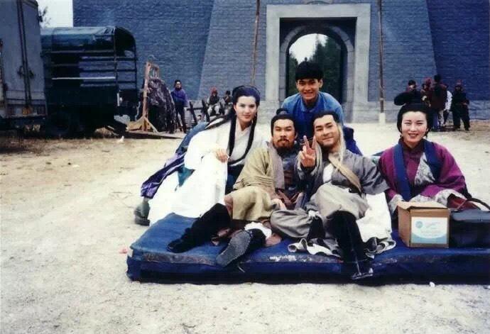 Ảnh hậu trường chưa từng tiết lộ của Thần điêu đại hiệp 1995-7