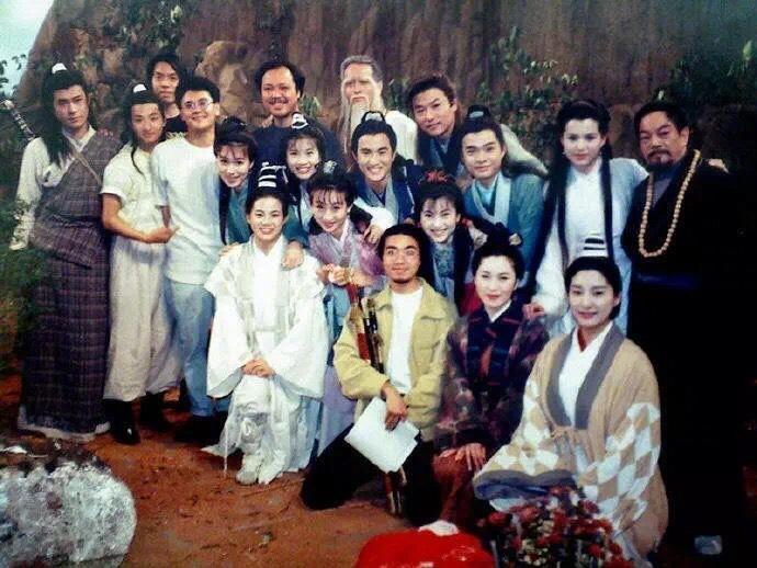 Ảnh hậu trường chưa từng tiết lộ của Thần điêu đại hiệp 1995-9
