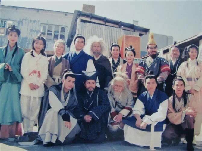 Ảnh hậu trường chưa từng tiết lộ của Thần điêu đại hiệp 1995-10