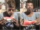 Clip hài: Tròn mắt với những 'thánh' ăn dưa hấu nhanh nhất quả đất