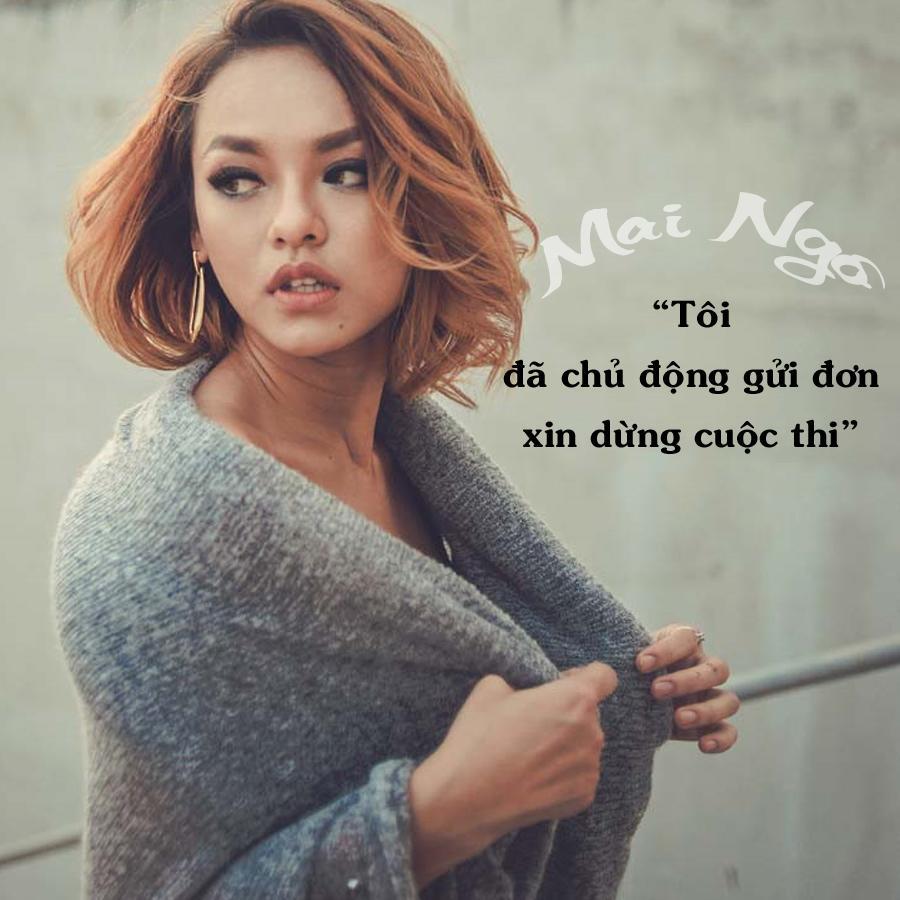 Mai Ngô chính thức rút khỏi Hoa hậu Hoàn vũ Việt Nam 2017-2