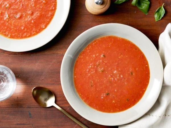 Món ngon mỗi ngày: Súp cà chua nướng cho buổi tối thanh mát-1