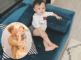 Hot girl - hot boy Việt 11/10: Kiên Hoàng khoe dáng ngồi quý tộc cực yêu của con gái