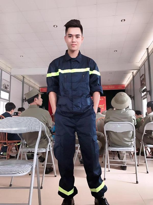 Hot boy cảnh sát khiến nhiều người bất ngờ với bức ảnh dậy thì thành công-7