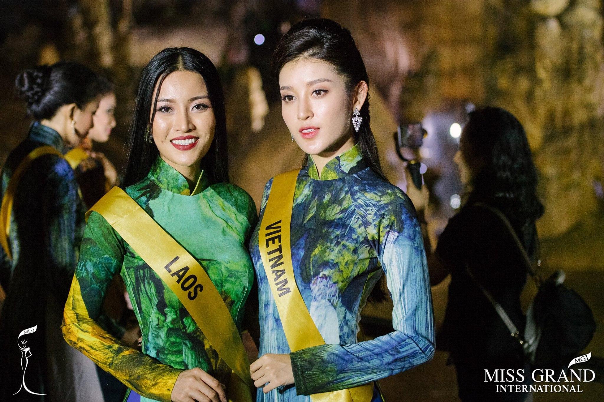 Mặc áo dài và cài dâm bụt giống Hoàng Thùy, người đẹp Fiji sáng nhất Miss Grand 2017-9