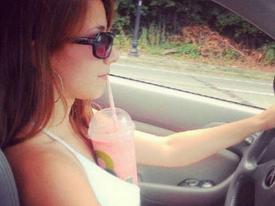 Cơn 'ác mộng' khi chị em ngồi sau tay lái