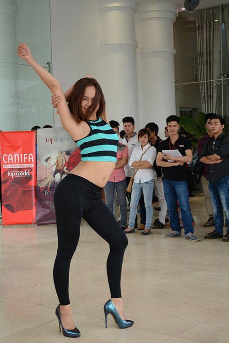 Trước khi ngã tại Hoa hậu Hoàn vũ Việt Nam, Mai Ngô từng rất cứng tại Next Top Model 2013-4