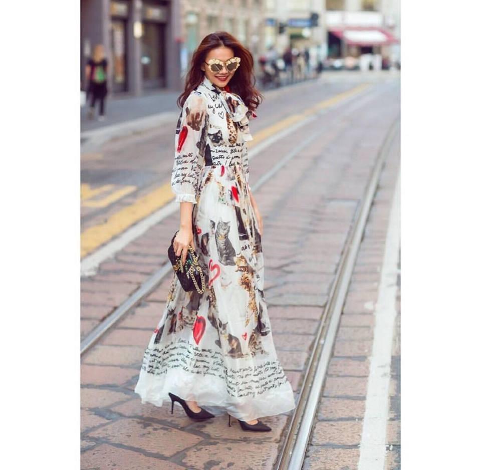 Hồ Ngọc Hà soán ngôi street style tuần này với bộ sưu tập giầy thần thánh-12
