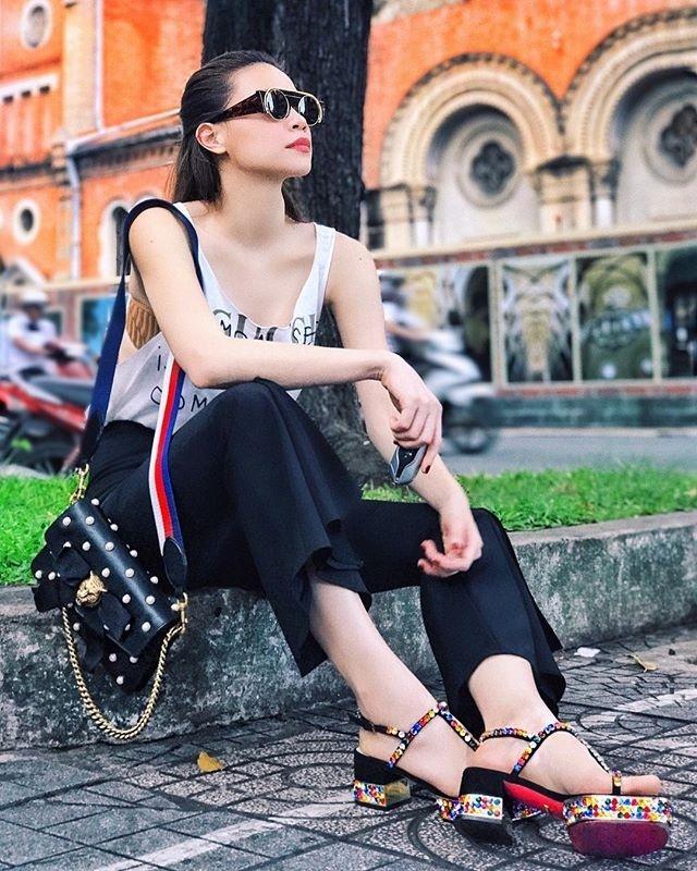 Hồ Ngọc Hà soán ngôi street style tuần này với bộ sưu tập giầy thần thánh-3