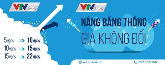 Hà Nội: Lắp đặt VTVNET nâng băng thông, giá không đổi-1