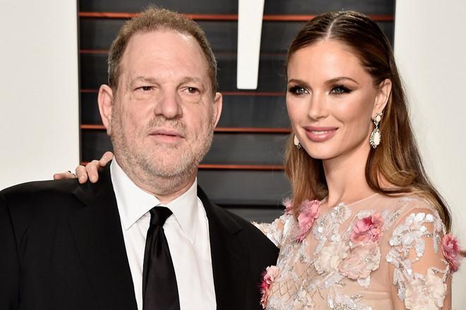 Vợ ông trùm Hollywood bỏ chồng sau bê bối lạm dụng tình dục-1