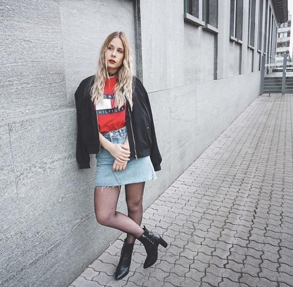 Mặc đẹp miễn chê với mọi loại chân váy mùa thu đông-5