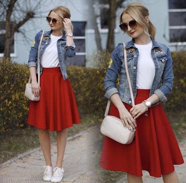 Mặc đẹp miễn chê với mọi loại chân váy mùa thu đông-6
