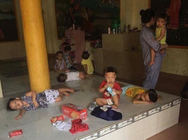 Sau hình ảnh trẻ bị bỏ đói ở Tịnh xá, sư cô trả lời: Đều sai sự thật, ở đây chỉ thiếu người chăm sóc các em-1