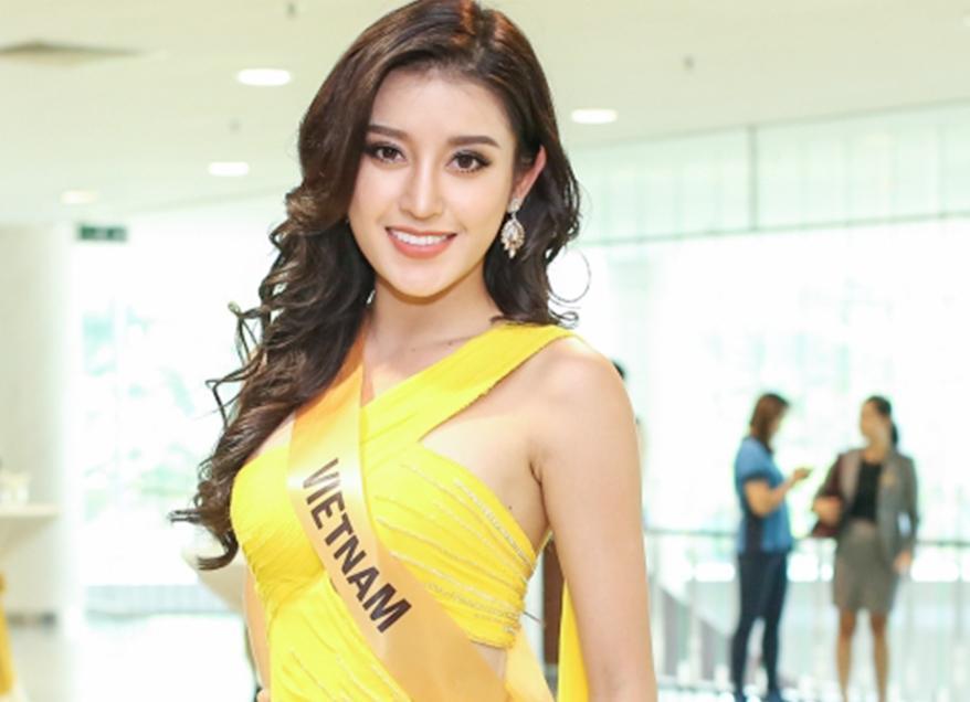 Huyền My đứng top mặc đẹp nhất thảm đỏ với váy vàng lộng lẫy tại Miss Grand International 2017-3