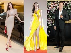 Huyền My đứng top mặc đẹp nhất thảm đỏ với váy vàng lộng lẫy tại Miss Grand International 2017