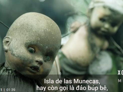 Bí mật phía sau hòn đảo búp bê đáng sợ