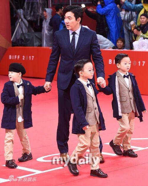 Sao nhí Gia đình là số 1 bị chỉ trích vì hở bạo trên thảm đỏ LHP quốc tế Busan-13