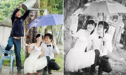 Sự thật không tưởng đằng sau những bức ảnh cưới lung linh-5