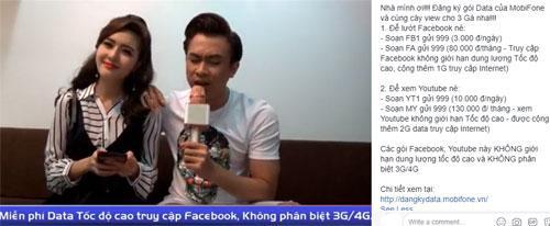 Sao Việt livestream siêu ngọt với 4G MobiFone-3