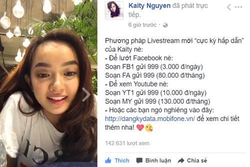 Sao Việt livestream siêu ngọt với 4G MobiFone-5
