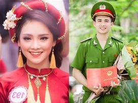 Top 10 'Hoa hậu Việt Nam 2016' gửi lời nhắn 'sến rện' đến ông xã hot boy trước ngày cưới