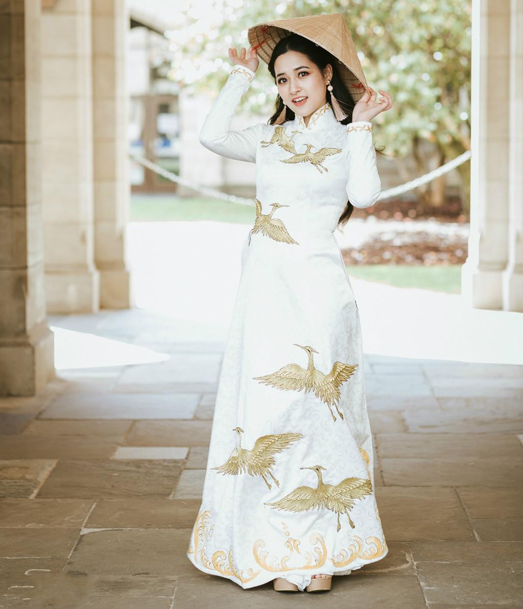 Nhan sắc đời thường của nữ sinh Việt vừa đăng quang hoa khôi tại Australia-4