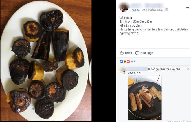 Khoe khéo khoe đảm xưa rồi, chị em giờ đang có mốt mới chất hơn: Khoe nấu nướng vụng về-1