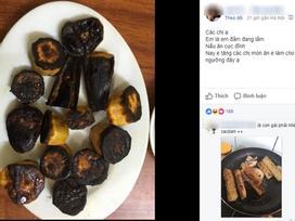 Khoe khéo khoe đảm xưa rồi, chị em giờ đang có mốt mới 'chất hơn': Khoe nấu nướng vụng về
