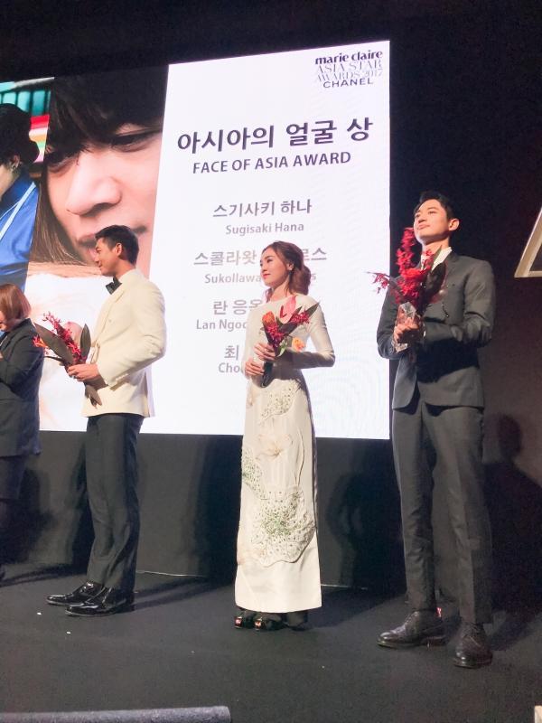 Ninh Dương Lan Ngọc đoạt Gương mặt châu Á tại LHP Busan, nhan sắc lấn át Yoona và Moon Geun Young-3