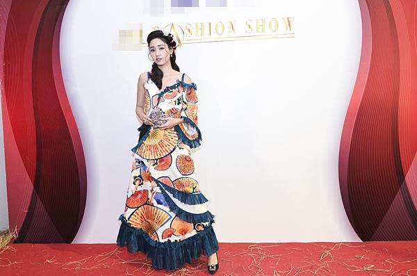 Á hậu Hoàn vũ Việt Nam 2015 Ngô Trà My hiếm hoi dự sự kiện sau khi lấy chồng đại gia-1