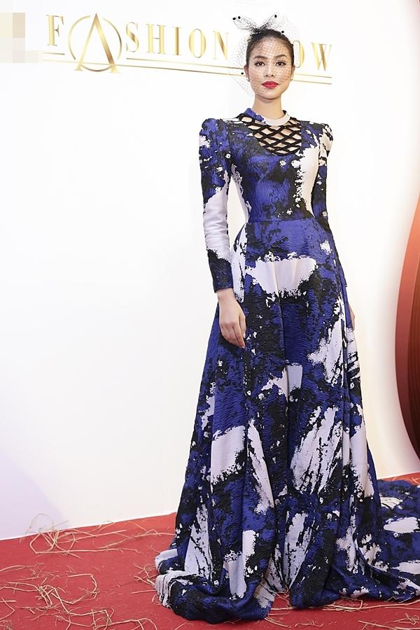 Á hậu Hoàn vũ Việt Nam 2015 Ngô Trà My hiếm hoi dự sự kiện sau khi lấy chồng đại gia-3