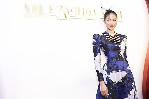 Á hậu Hoàn vũ Việt Nam 2015 Ngô Trà My hiếm hoi dự sự kiện sau khi lấy chồng đại gia-4