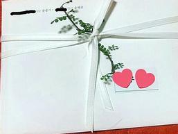 Hình thiệp cưới của cặp đôi Song Joong Ki và Song Hye Kyo: Không 'hoành tráng' như mong đợi?