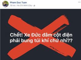 Đức Tuấn đăng status ẩn ý 'bắt bẻ' MV mới của Noo Phước Thịnh