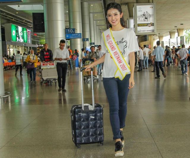 Hành trình thoát mác hotgirl của Huyền My tại Miss Grand International 2017-1