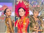 Quốc phục của Huyền My rượt đuổi vote quyết liệt với Indonesia và Philippines