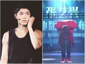 Fan rơi nước mắt khi Lay cúi gập người trước khán giả suốt gần 2 phút trên sân khấu