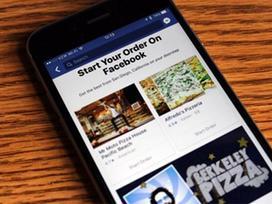 Facebook ra tính năng mới dành cho fan ăn uống