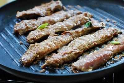 Món ngon cuối tuần: Bò nướng kiểu Hàn Quốc-4