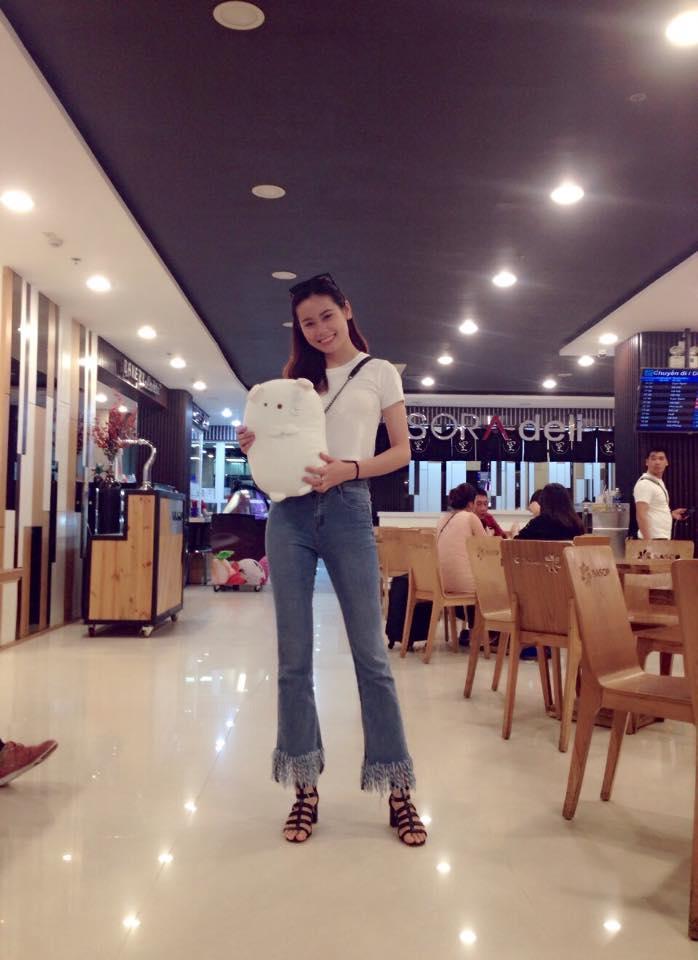 Nhan sắc đời thường của thí sinh gây bão nhất Hoa hậu Hoàn vũ Việt Nam tập 3-10