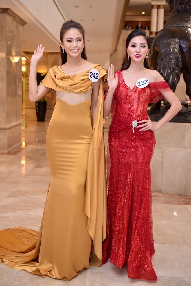 Mâu Thủy mất thế thượng phong vì liên tục vấp lỗi tại Hoa hậu Hoàn vũ Việt Nam 2017-4