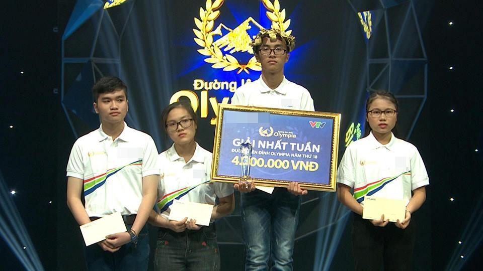 10X Quảng Nam thâu đêm ôn luyện đã xuất sắc giành giải nhất tuần Đường lên đỉnh Olympia-3