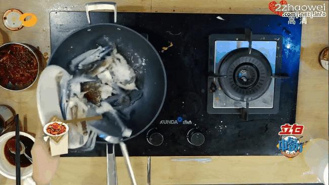 Triệu Vy nấu Cua vị cay khiến Huỳnh Hiểu Minh thèm chảy nước miếng-2