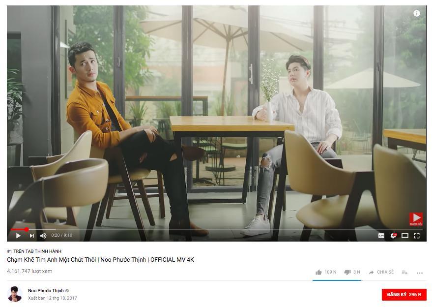 Đại chiến trending Youtube: Noo Phước Thịnh dẫn đầu, Mỹ Tâm vượt mặt Chi Pu chỉ sau 1 ngày-1