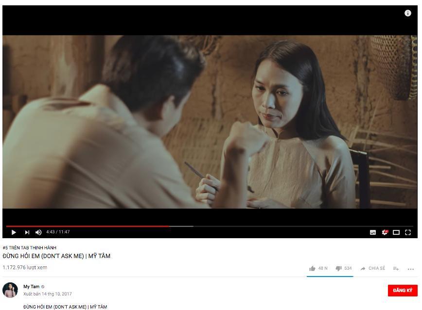 Đại chiến trending Youtube: Noo Phước Thịnh dẫn đầu, Mỹ Tâm vượt mặt Chi Pu chỉ sau 1 ngày-2