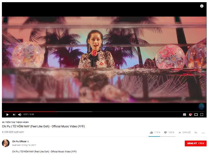 Đại chiến trending Youtube: Noo Phước Thịnh dẫn đầu, Mỹ Tâm vượt mặt Chi Pu chỉ sau 1 ngày-3